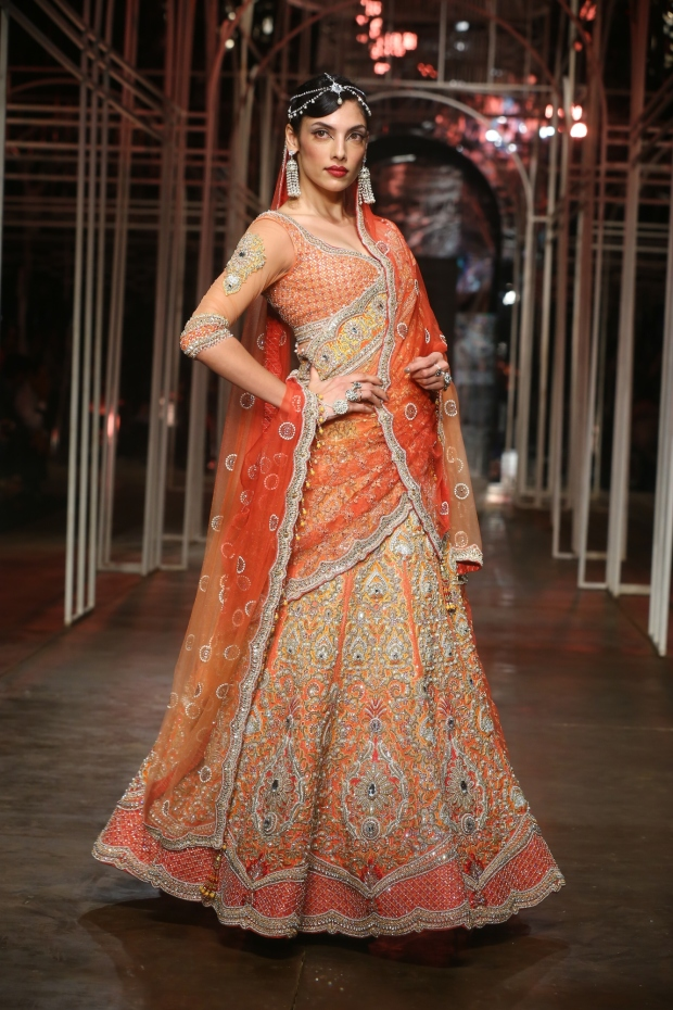 At the India Bridal Fashion Week - Model seen in Tarun Tahiliani Collection 4