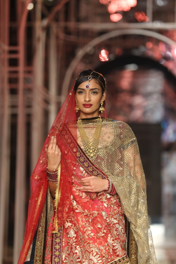 At the India Bridal Fashion Week - Model seen in Tarun Tahiliani Collection 6