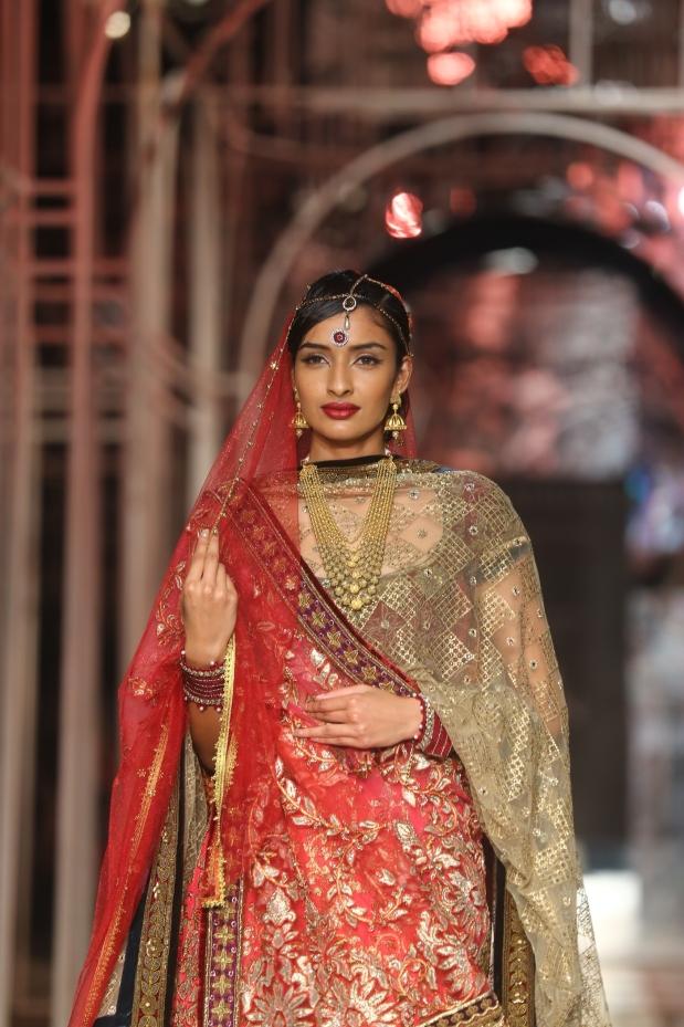 At the India Bridal Fashion Week - Model seen in Tarun Tahiliani Collection 6