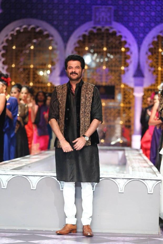 India Bridal Fashion Week Delhi 2013 - Anil Kapoor, the showstopper for Raghavendra Rathore