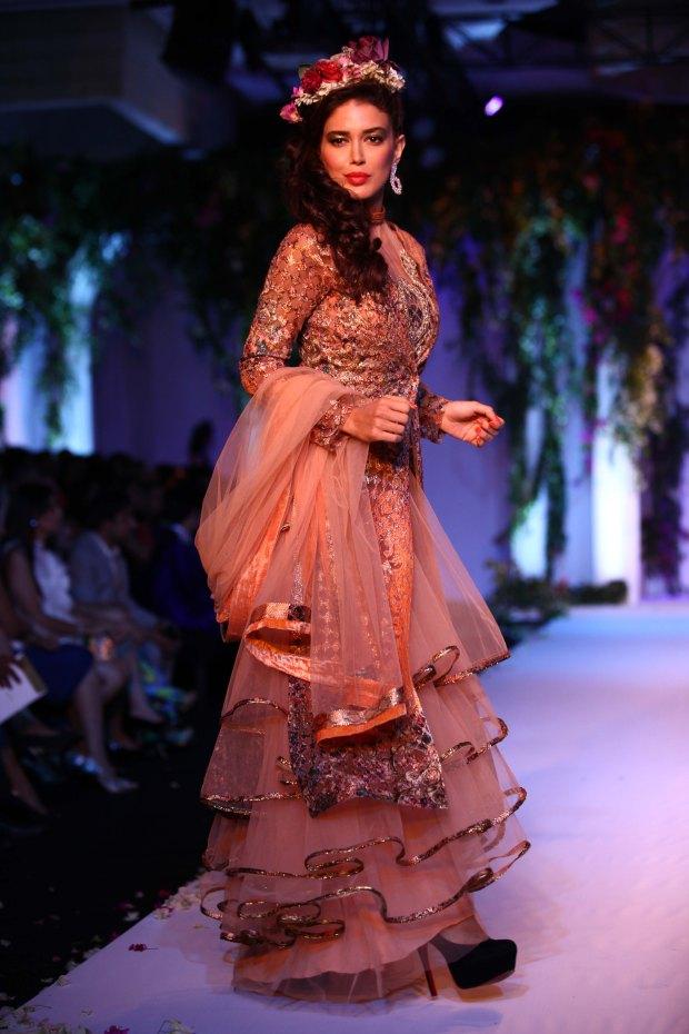India Bridal Fashion Week Delhi 2013 - Model seen in Falguni & Shane's Collection_1