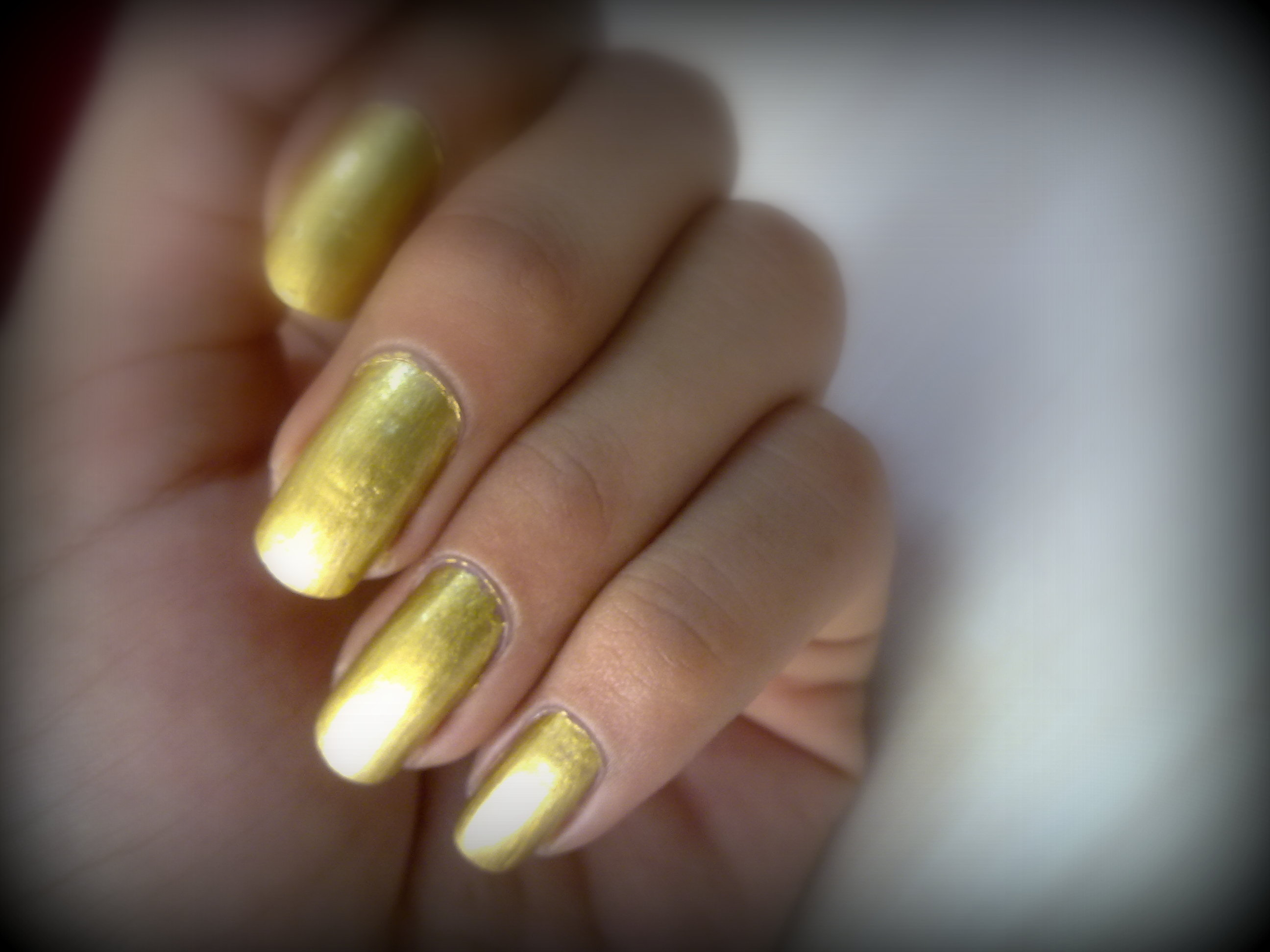 modern nail color: Golden Nails Hours Manicure