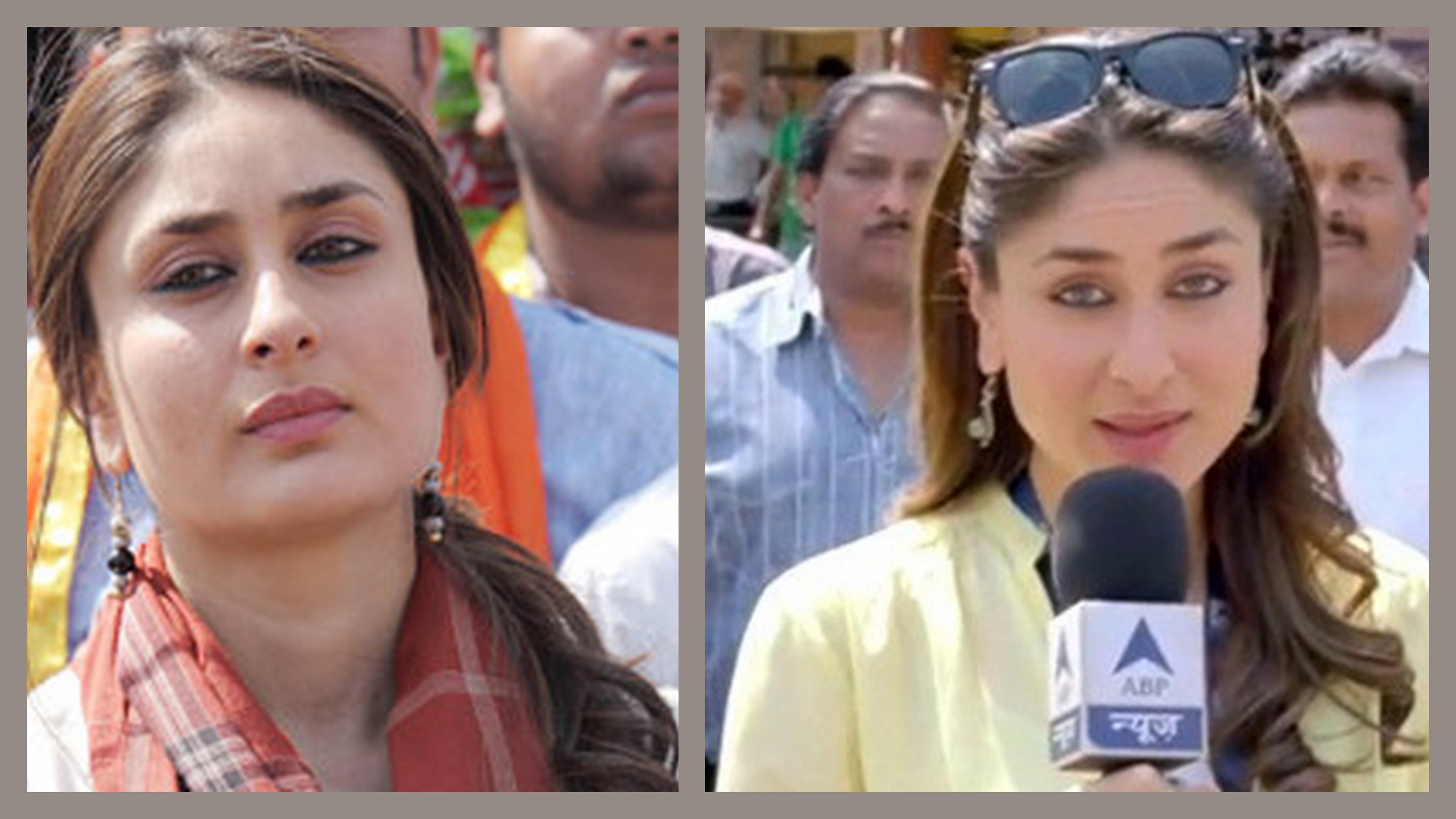 Style Review Kareena Kapoor Khan In Satyagraha Kintyish - Hair colour kareena kapoor