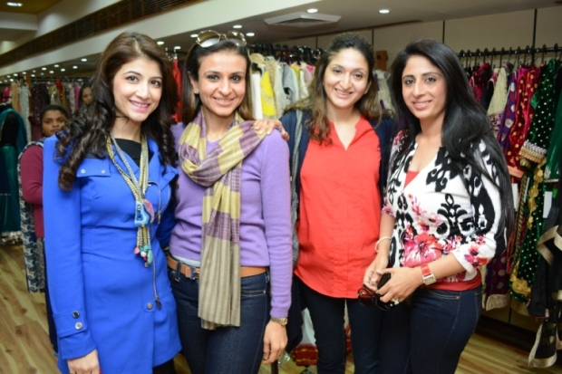 Extreme left: Mallika Jain, Promoter of Jainsons Gallery, New Delhi