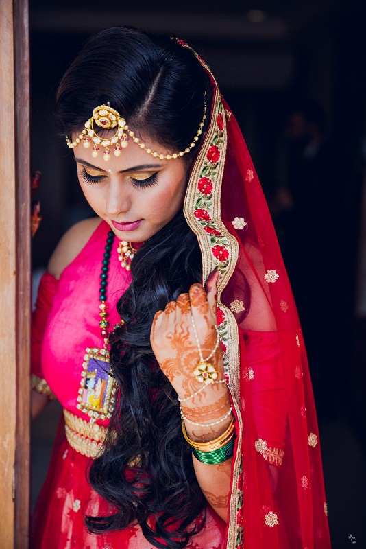 how to curate buy bridal wedding lehenga outfit bridal makeup and jewellery_kintyish.com_indian fashion and lifestyle blog _ himanshi mukhija_15