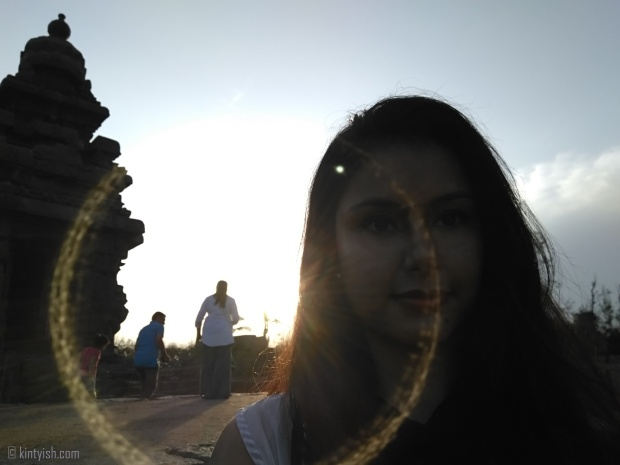 Chennai Mahabalipuram Travel Blog _ Kintyish.com_top best Indian fashion lifestyle travel blog blogger Himanshi Mukhija_16 Mahabalipuram Shore Temple Selfie Sunrise and Birds Silhoutte